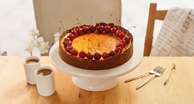 Vişneli-Cheesecake