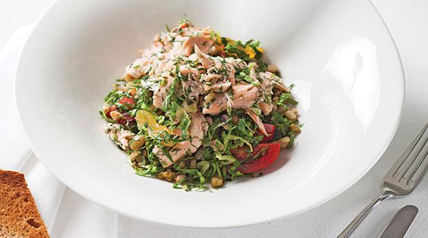 somon-salatası