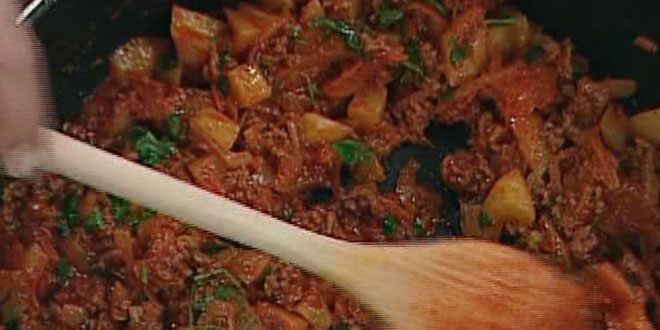Ispanaklı Pirinç Çorbası