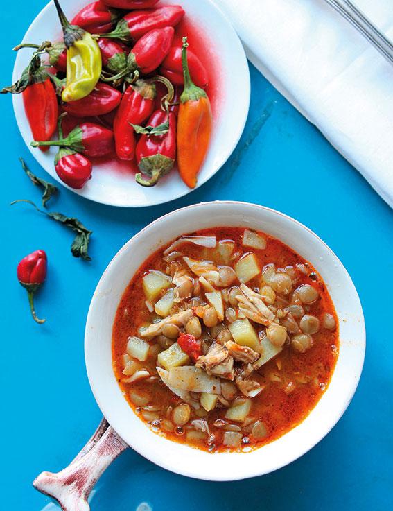 Topal Tavuk Çorbası