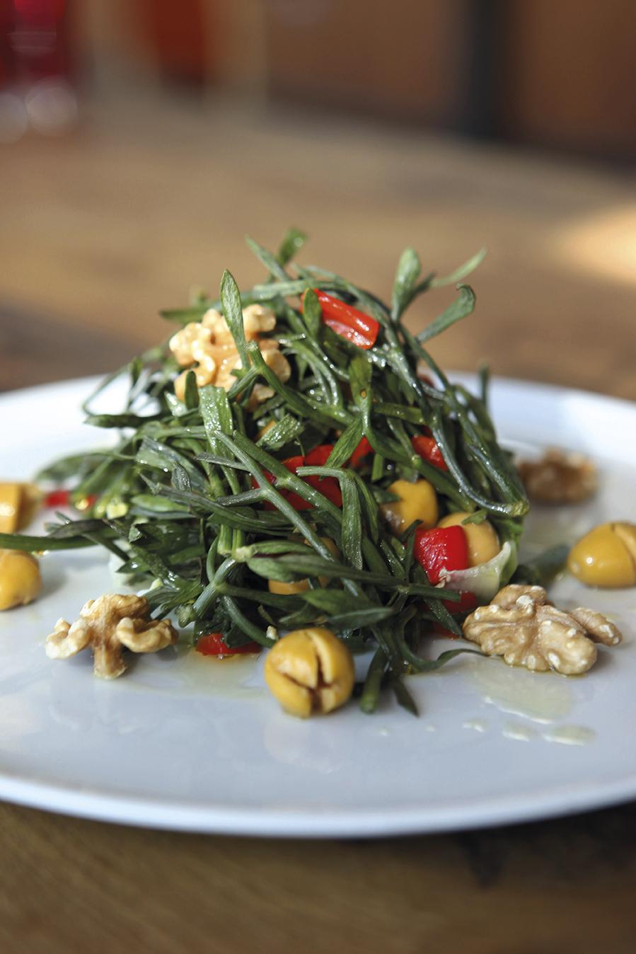 Kayakoruğu Salatası