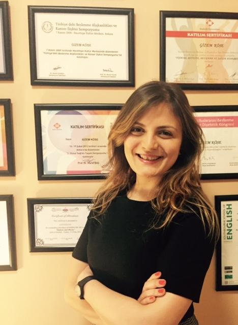 NPİSTANBUL Beyin Hastanesi Beslenme ve Diyet Uzmanı Dr. Gizem Köse