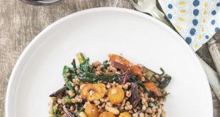 Pazılı ve Havuçlu Karabuğday Salatası