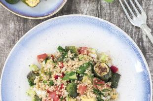 Kabaklı Kinoa Salatası