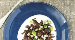 Patlıcanlı Beluga Mercimeği Salatası