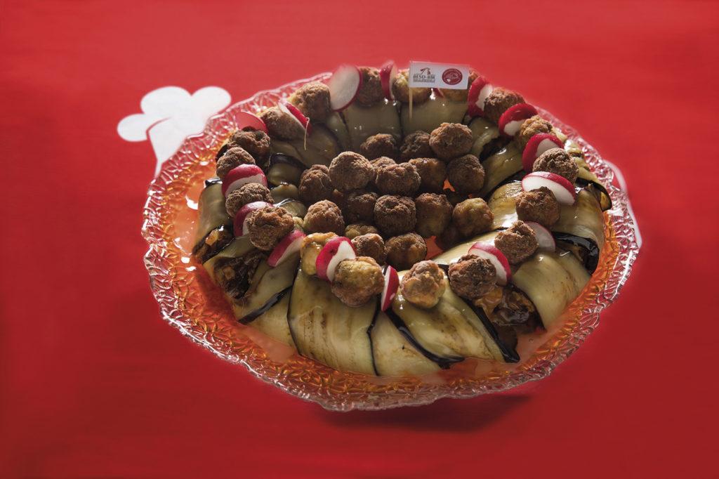 Greyfurt Soslu Patlıcanlı Tavuk